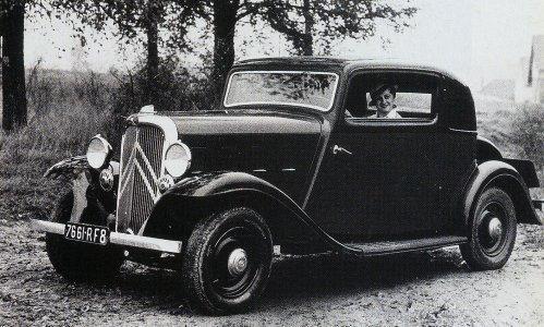 Rosalie 8 Coupé Manessius 1933