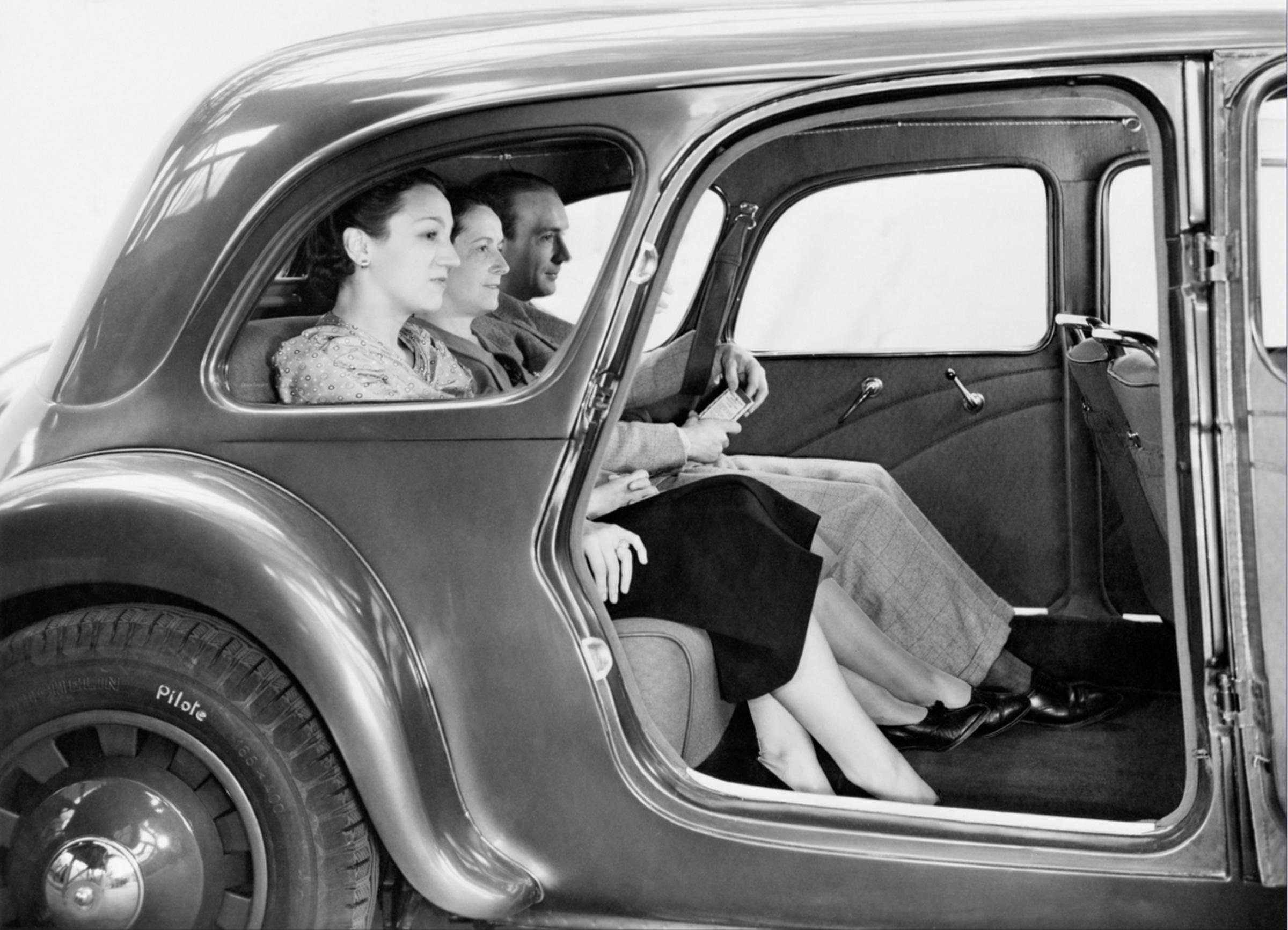 Traction 11B Conduite Intérieure 1938