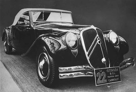 Traction 22 Cabriolet 1934