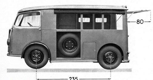 TUB 1939 dimensions