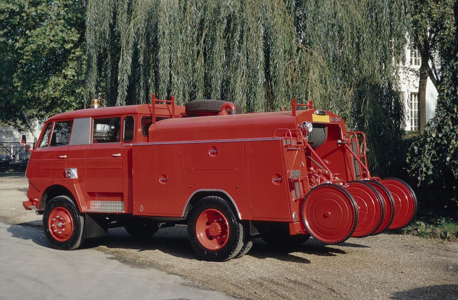 Грузовик типа 350, пожарный. 1968 г.