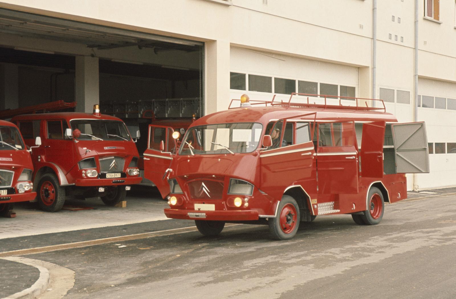 Пожарная машина 350. 1967 г.