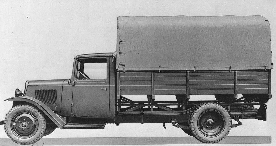 U23 1939 camion Citroën contemporain du TUB