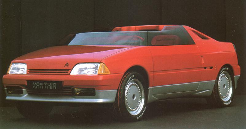 Xanthia Concept-Car de 1986 sur la base de l'AX