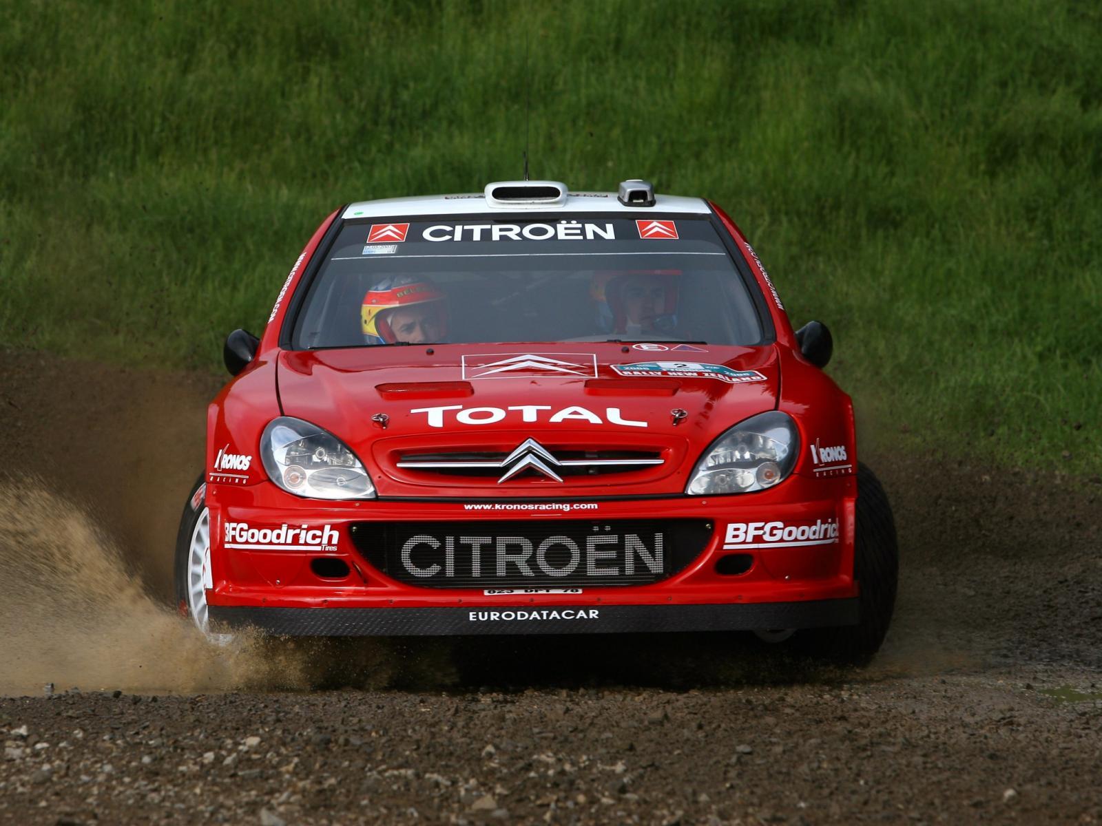 Xsara WRC 2005 face avant