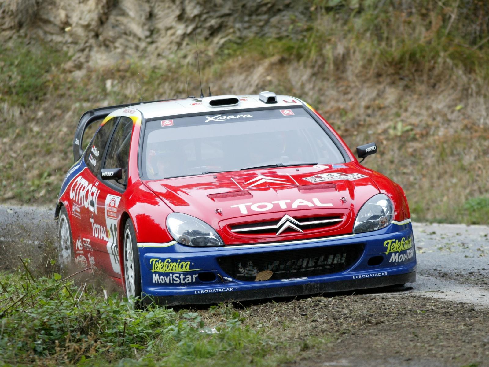 Xsara WRC 2005 prédécesseur du C4 WRC