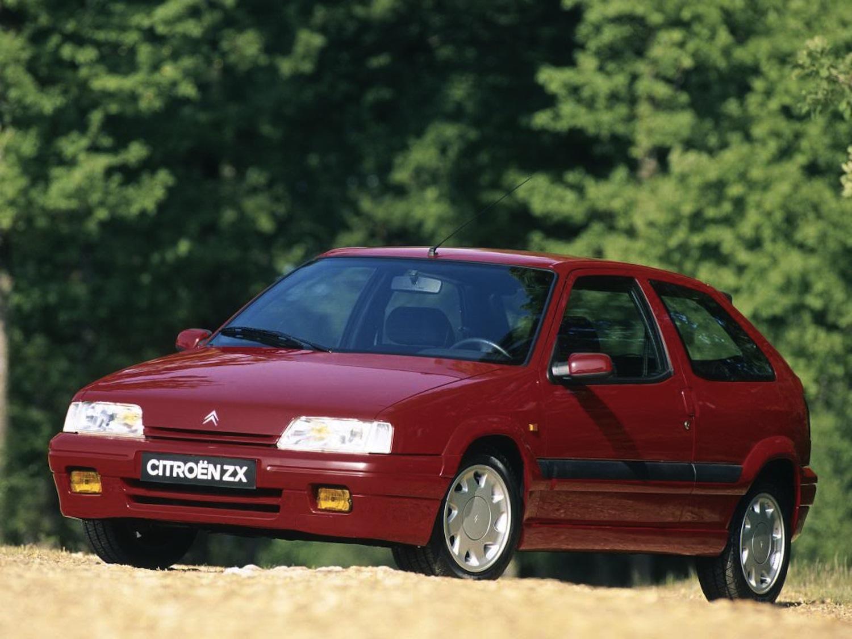 ZX Coupé 16V 155 ch 1993 lointaine base de la ZX Rallye Raid