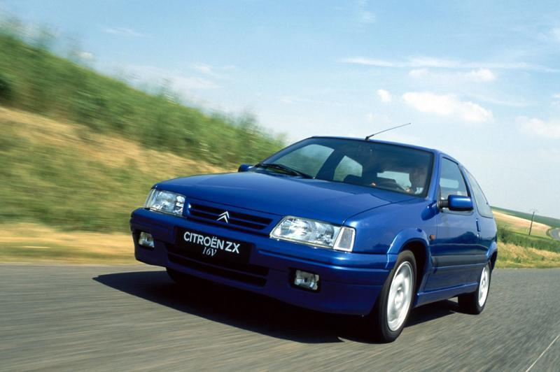 ZX Coupé 16V 167 ch 1996 face avant