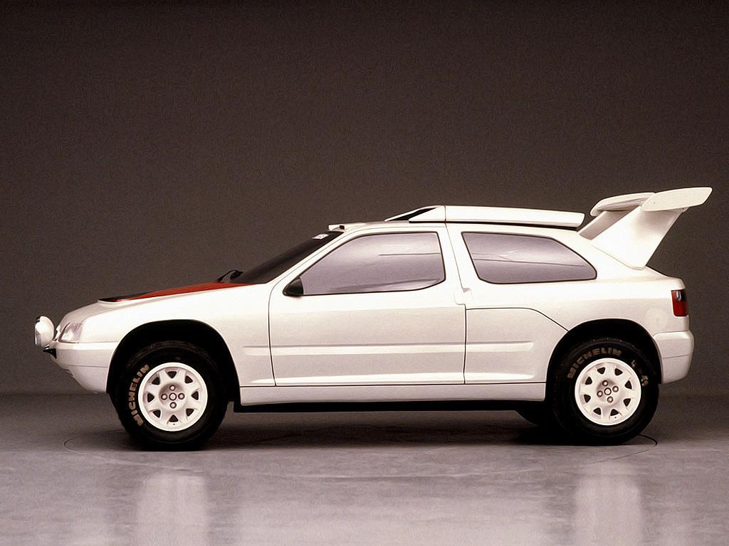 ZX Rallye Raid prototype 1990