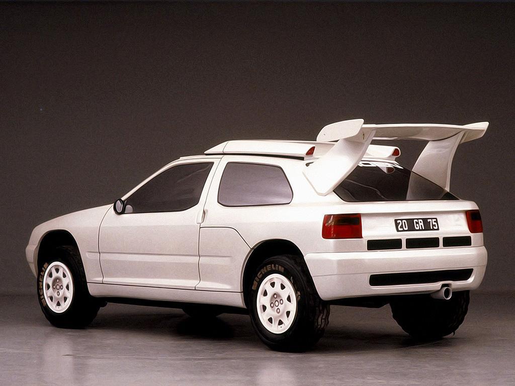 ZX Rallye Raid prototype 1990 3 quarts AR
